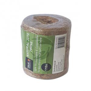 Biodegradable Jute Twine Garden String - 110m